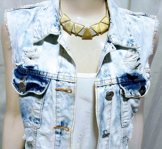 Colete jeans  - Foto 5