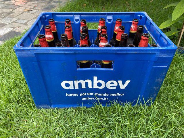 Caixa de cerveja com casco (completa) - Foto 2
