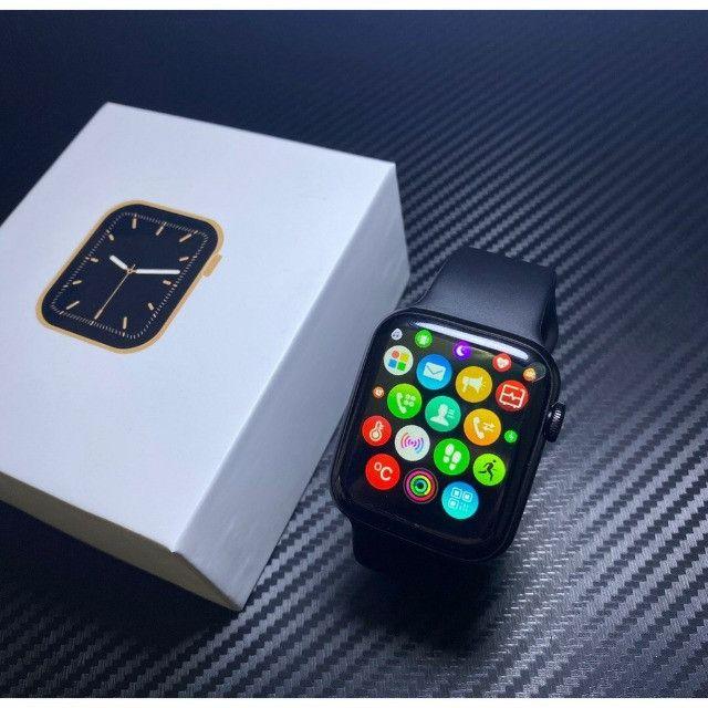 Smartwatch Iwo12 W26 - Series 6 Tela Infinita 44mm - Foto 3