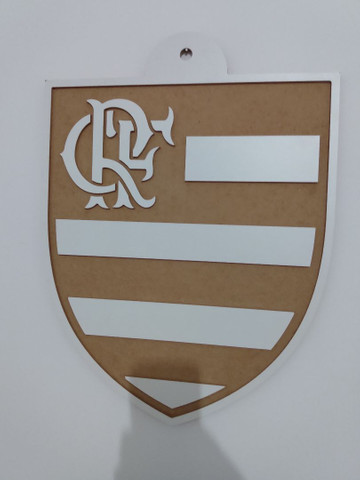 Quadro Flamengo em MDF - Foto 2