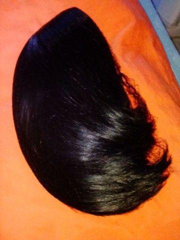 Vendo peruca lace e rabo de cavalo fibra orgânica - Foto 2
