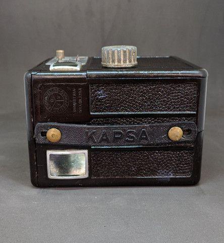 Linda câmera fotográfica antiga - Foto 4