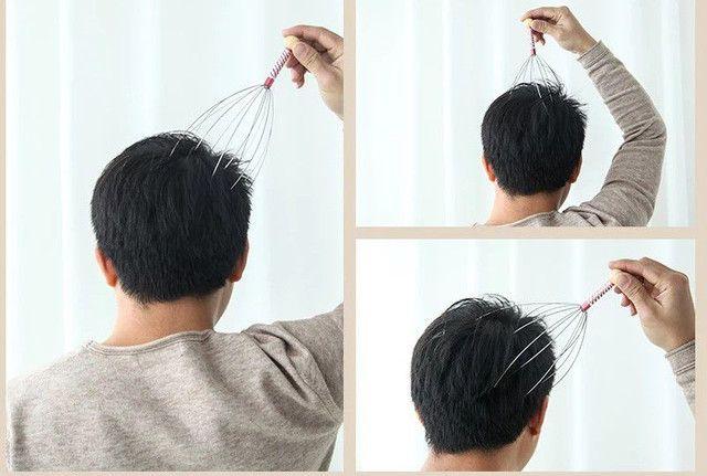 Massageador de cabeça - Foto 4