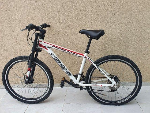 Bicicleta Aro 26 Freio Disco Fischer Runner Alloy Com Nota Fiscal