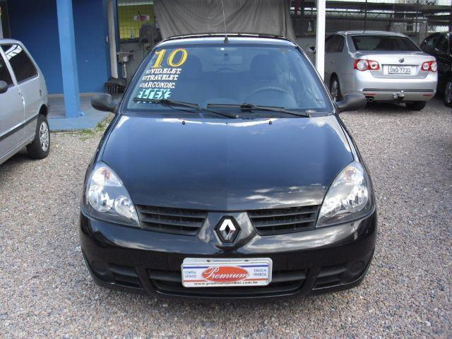 renault clio 1 0 flex preto campus 2010 carros jardim merci ii jundia olx. Black Bedroom Furniture Sets. Home Design Ideas