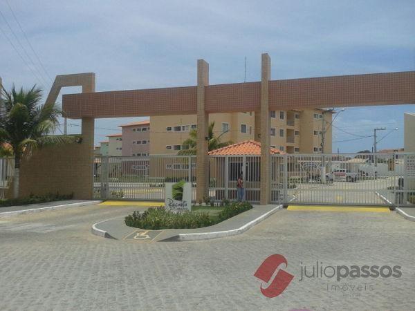 Apartamento  com 2 quartos no Condomínio Recanto dos Coqueiros - Bairro Centro em Barra do
