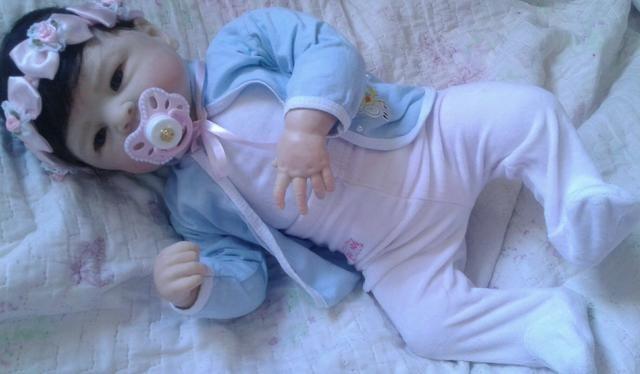 Bebê reborn molde Maylin pronta entrega