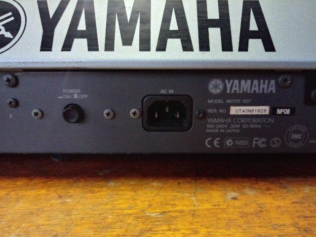Yamaha Motif XS7 - Foto 3