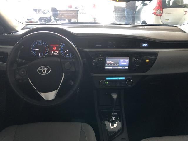 Toyota/Corolla 2.0 xei ano 2016 automático com 45 km - Foto 9