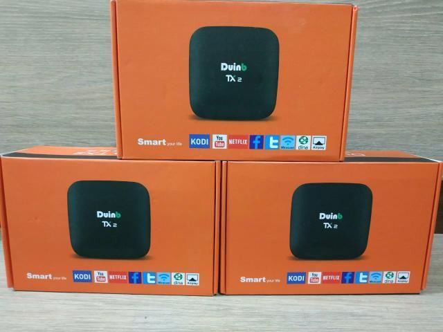 Box tv tx2 original* transforme sua tv comum em uma smartv - Foto 2
