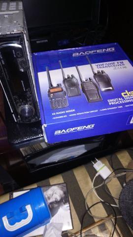 Rádio transmissor novo beofeng - Foto 2