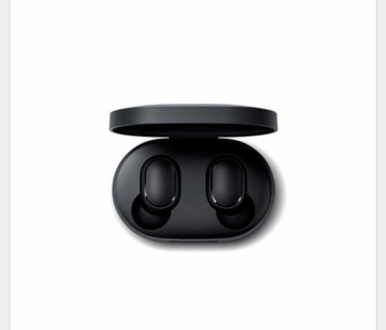 Fone de Ouvido Redmi Airdots Bluetooth Preto Xiaomi - Foto 2