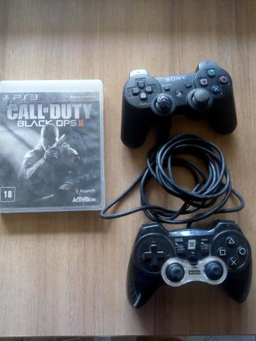 2 controles PS3+COD - Foto 2