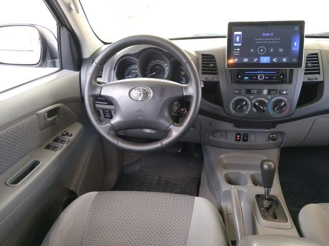 Toyota Hilux CD SR 2.7 WTi 2010 GASOLINA - Foto 14