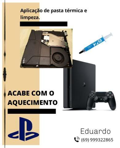 Limpeza PS4
