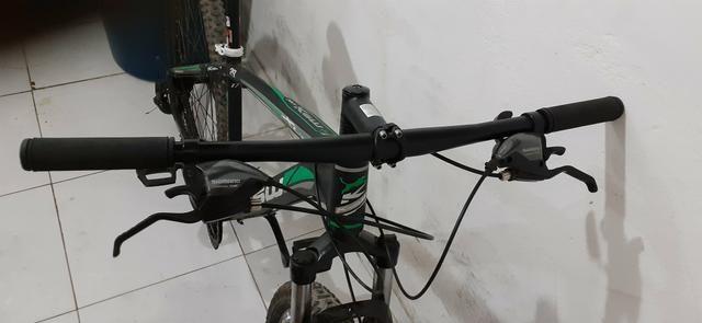 Bike KSW Alumínio Aro 29 Preto Fosco - Foto 4