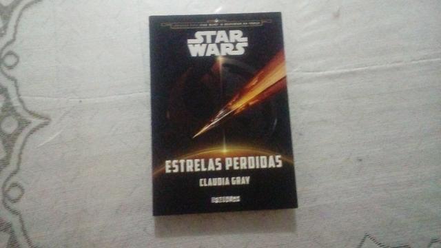Livro star wars - estrela perdida (semi novo)