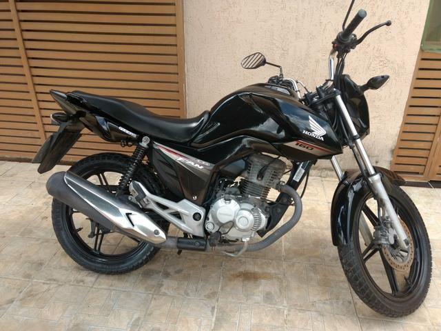 Vendo ou troco por moto de menor valor 160 2016 - Foto 6