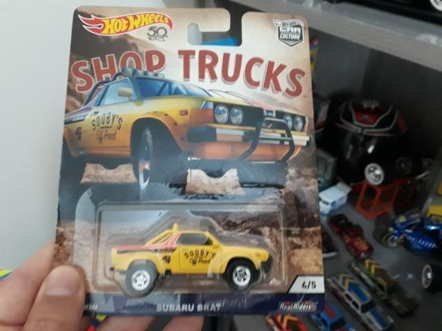 Miniatura hot wheels shop trucks