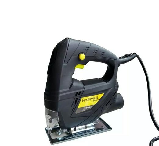 Serra Tico-Tico para Madeira, Alumínio e Aço 500w 220v - Hammer ST500