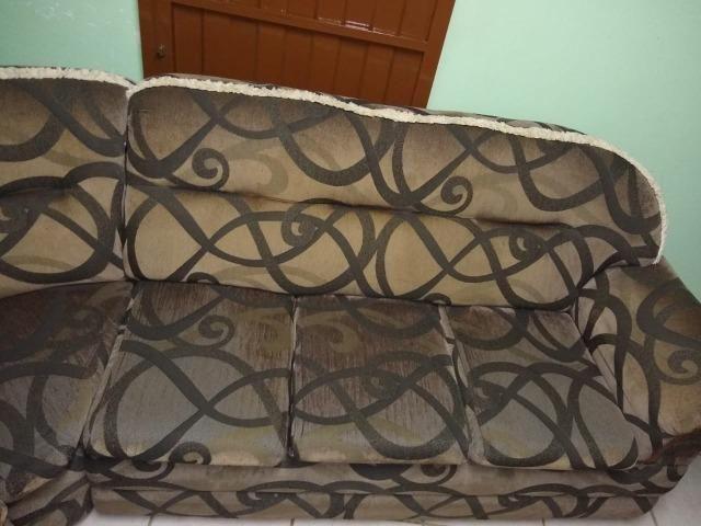 Vendo sofá de canto 6 lugares - Foto 4