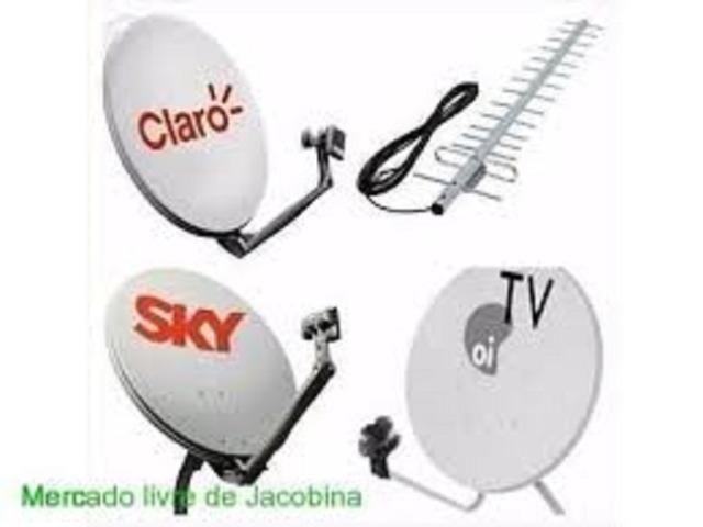 Instalação de antenas,roteadores e sistemas de segurança