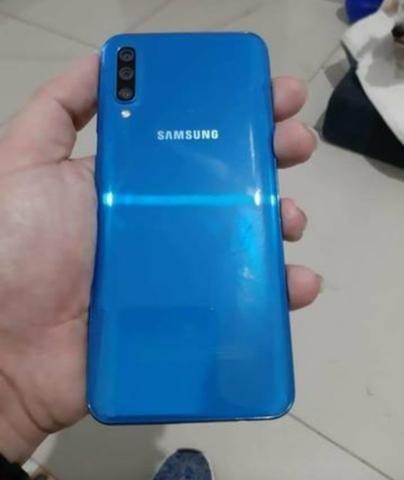 Vendo A50 128 GB, Novo é Ele!!! 1 mês de uso - Foto 3