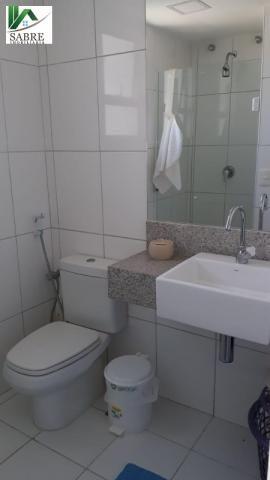 Apartamento Beira Mar 2 quartos Fortaleza-CE. RIVIERA BEACH PLACE - Foto 16