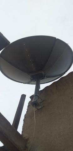 Desapegando 50 reais antena sky - Foto 2