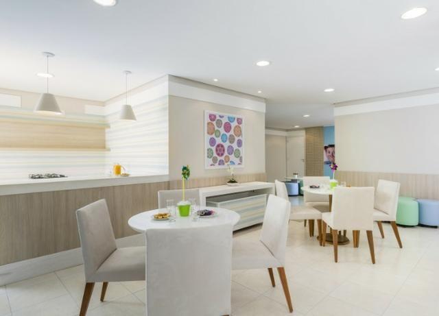 Vita Residencial Clube com 2 quartos sendo 1 suite / Moveis planejados na cozinha - Foto 5