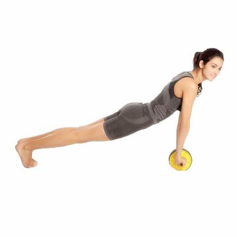 Roda para exercício abdominal/ lombar fitnes
