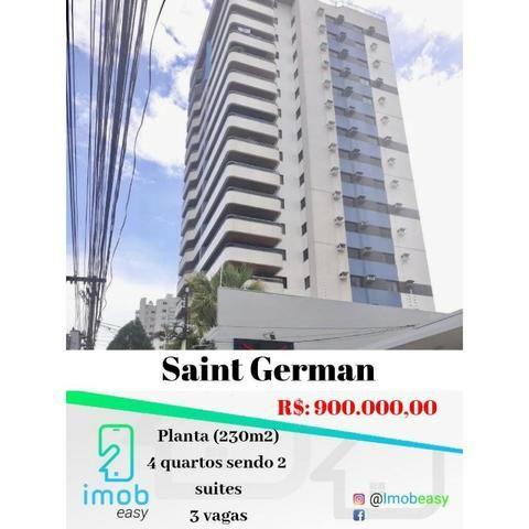 Edifício San Germain 4 quartos semi-mobiliado (Adrianópolis)
