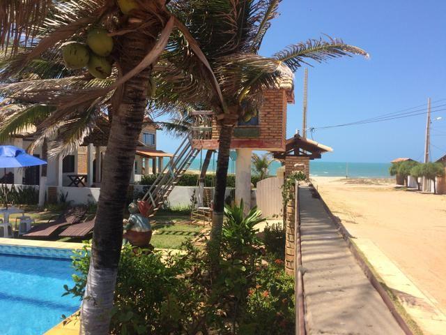 Excelente casa na praia da tabuba do morro branco Beberibe alugo 900 reais - Foto 7