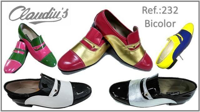 c1458d5e17 Sapato Social Masculino Claudiu´s - Couro Natural ou Verniz - Várias Cores  (Bico Redondo)