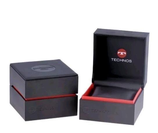 bd6fdf3875a Relógio Technos Masculino Dourado Performer - 2115laa 4c - Lacrado Original  + NF - SP ZN