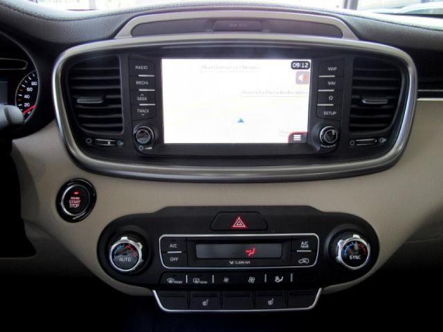 KIA SORENTO 2019 3.5 V6 GASOLINA EX 7 LUGARES 4WD AUTOMÁTICA BRANCA COMPLETA + TETO SOLA - Foto 12