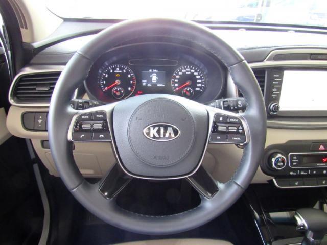 KIA SORENTO 2019 3.5 V6 GASOLINA EX 7 LUGARES 4WD AUTOMÁTICA BRANCA COMPLETA + TETO SOLA - Foto 11
