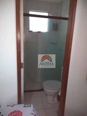 Apartamento com 2 dormitórios à venda, 53 m² por R$ 149.990,01 - Rio Doce - Olinda/PE - Foto 5