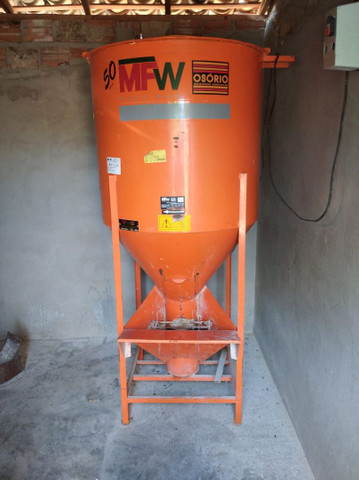 Misturador de ração 300 kilos - Foto 5