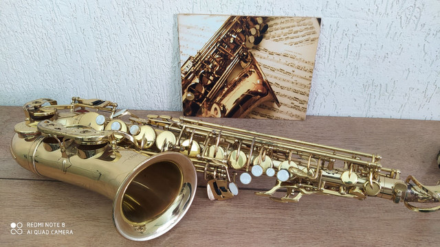 Sax alto vogga usado revisado completo  - Foto 3