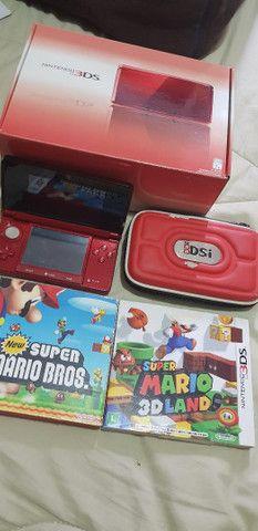 Nintendo 3ds colecionador 2 jogos originais - Foto 3