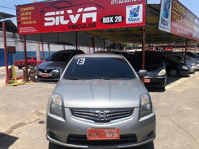 Sentra manual 2013 GNV R$ 26.900 entrada de 8 mil + parcelas de 449,79