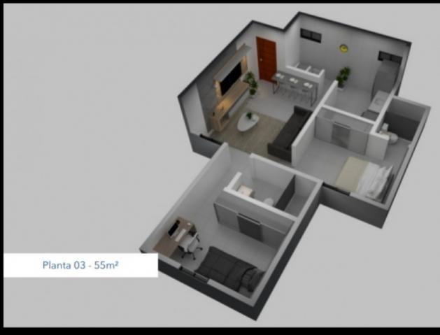 Apartamento à venda com 2 dormitórios em Paratibe, João pessoa cod:007110 - Foto 9