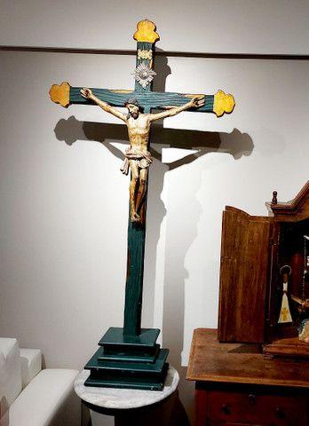 Crucifxo Antigo Cristo crucificado