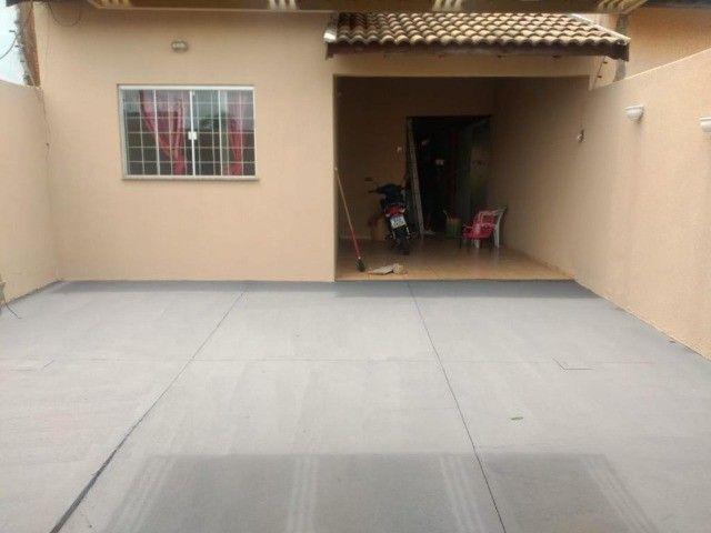 Linda Casa Aero Rancho com Varanda e quintal amplo