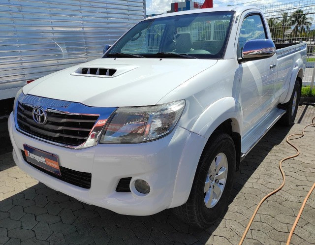 Hilux SRV 3.0 4x4 Diesel Cabine Simples 2008 Completo  -  Raridade - Foto 3