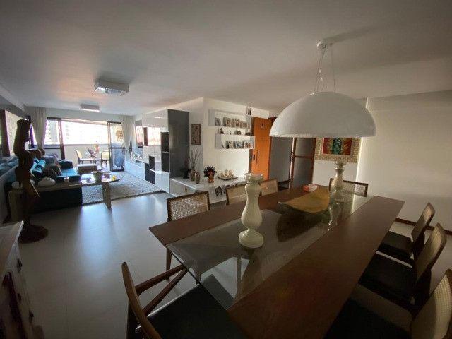 Apartamento 3 Suítes, Mobiliado, 157m², Alto Padrão - Ponta Verde - Foto 4