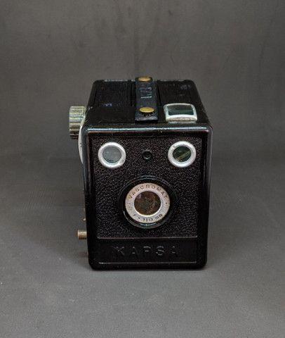 Linda câmera fotográfica antiga
