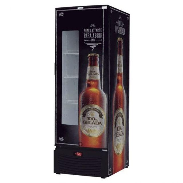 Cervejeira fricon 431l Com visor em Led - pronta entrega