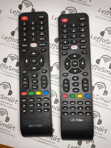 Controle para tv não necessita programação pilhas de brinde - Foto 4